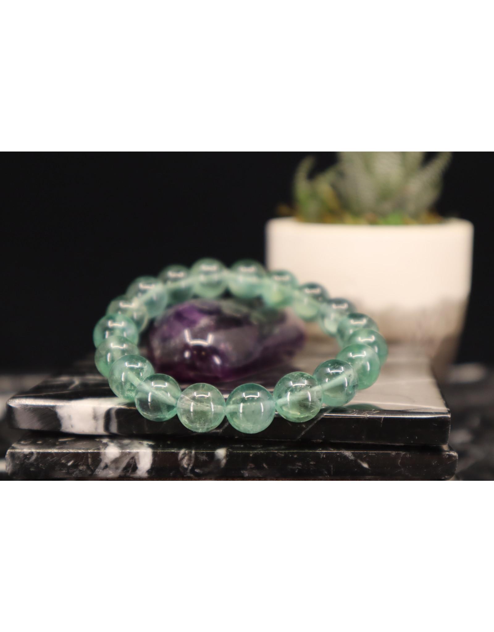 AAA Grade Blue Fluorite Bracelet - 10mm