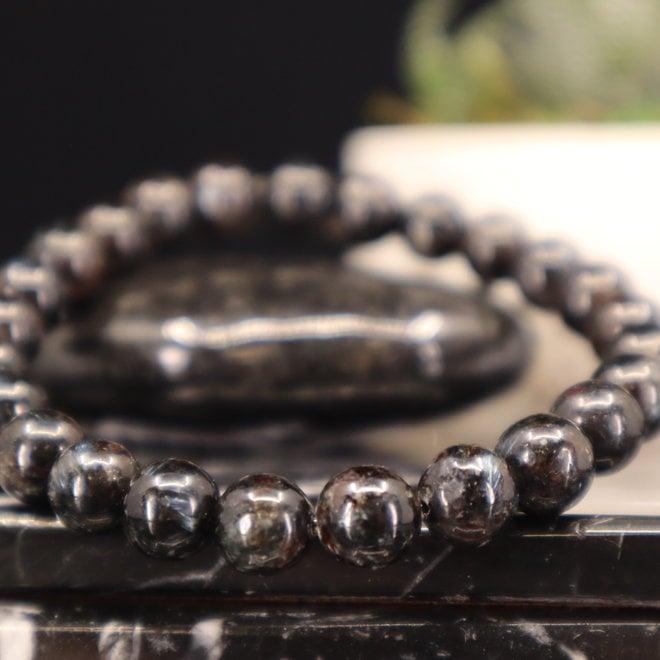 AAA Grade Arfvedsonite Bracelet-8mm