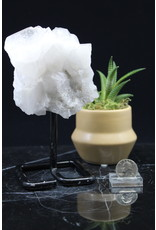 Clear Quartz Cluster on Pin/Stand