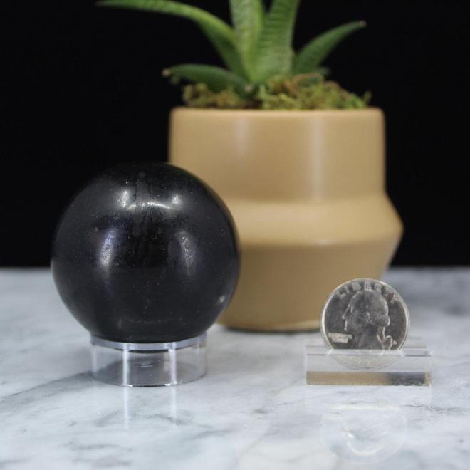 Black Tourmaline Sphere Orb-50mm