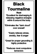 Black Tourmaline Ring - Size 6