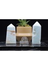 Caribbean Calcite Obelisk - Small