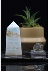 Caribbean Calcite Obelisk - Medium