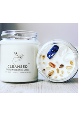 Candle -Crystal  - Cleansed