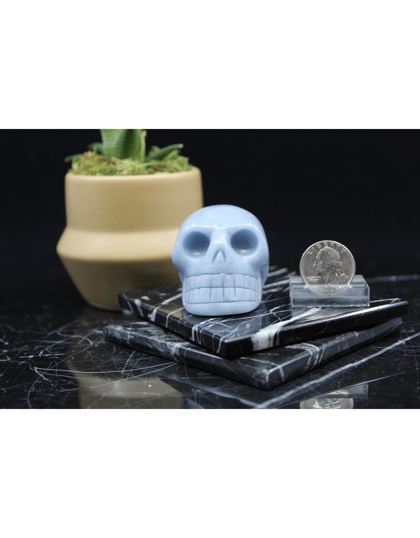 Angelite Skull Large