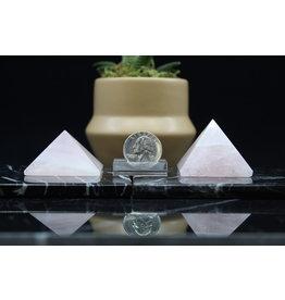 Rose Quartz Pyramid-Medium