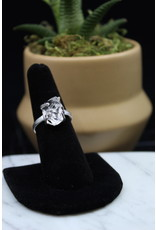 Clear Quartz Ring - Size 8