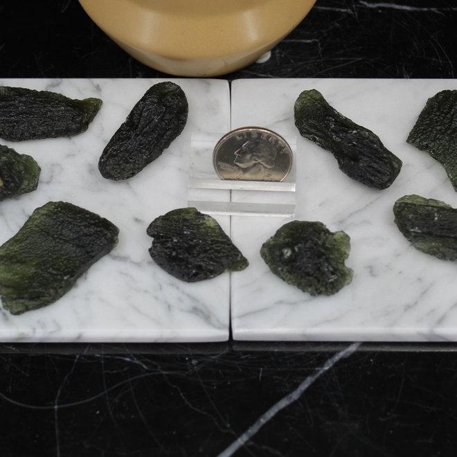 Moldavite - Medium Rough Raw Natural
