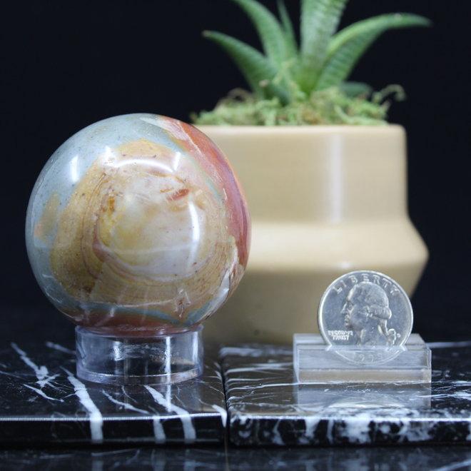 Desert Jasper/Polychrome Sphere 50mm