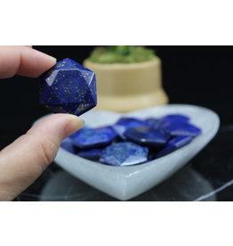 Lapis Lazuli Star of David/Satellite - Medium