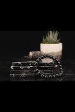 Black Spinel Bracelet-8mm