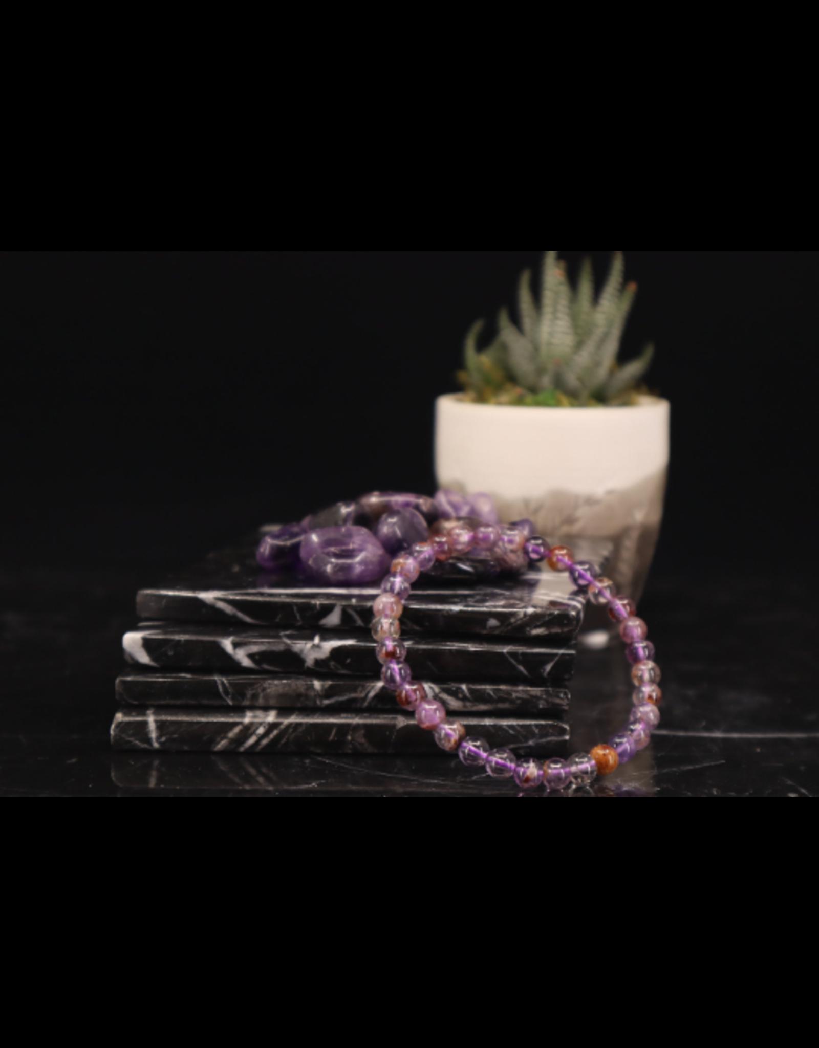 Bracelet -Cacoxenite  - 6mm