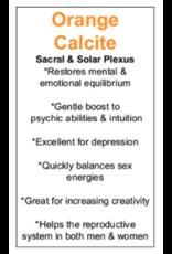 Dark Orange Calcite Rough