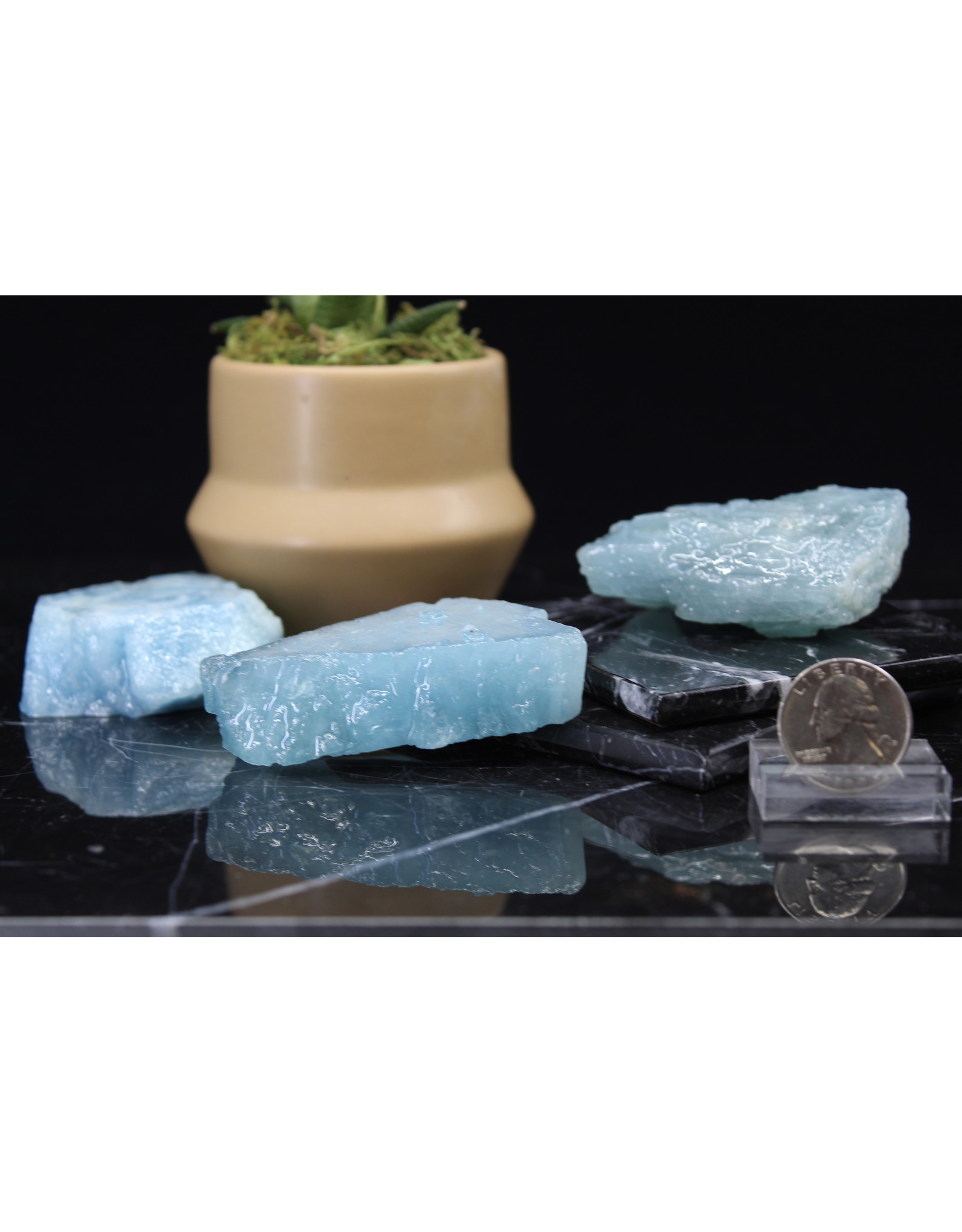Aquamarine-Rough Medium