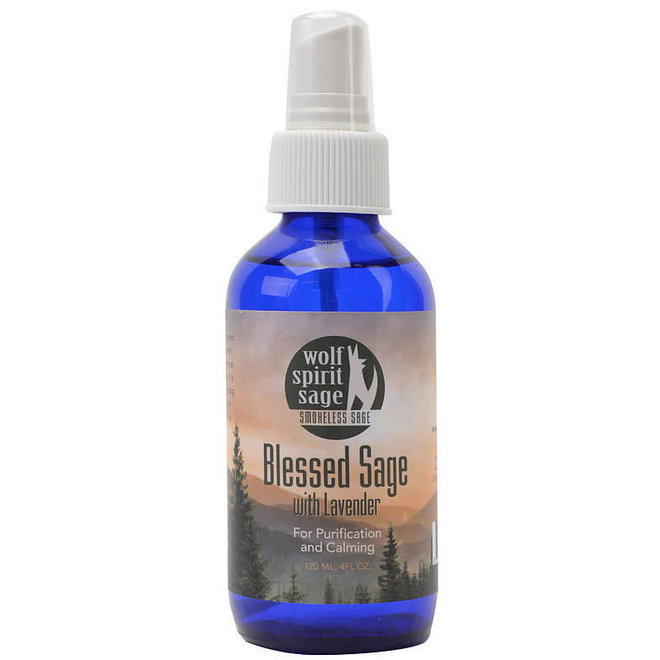 Blessed Sage with Lavender Spray - 4 oz
