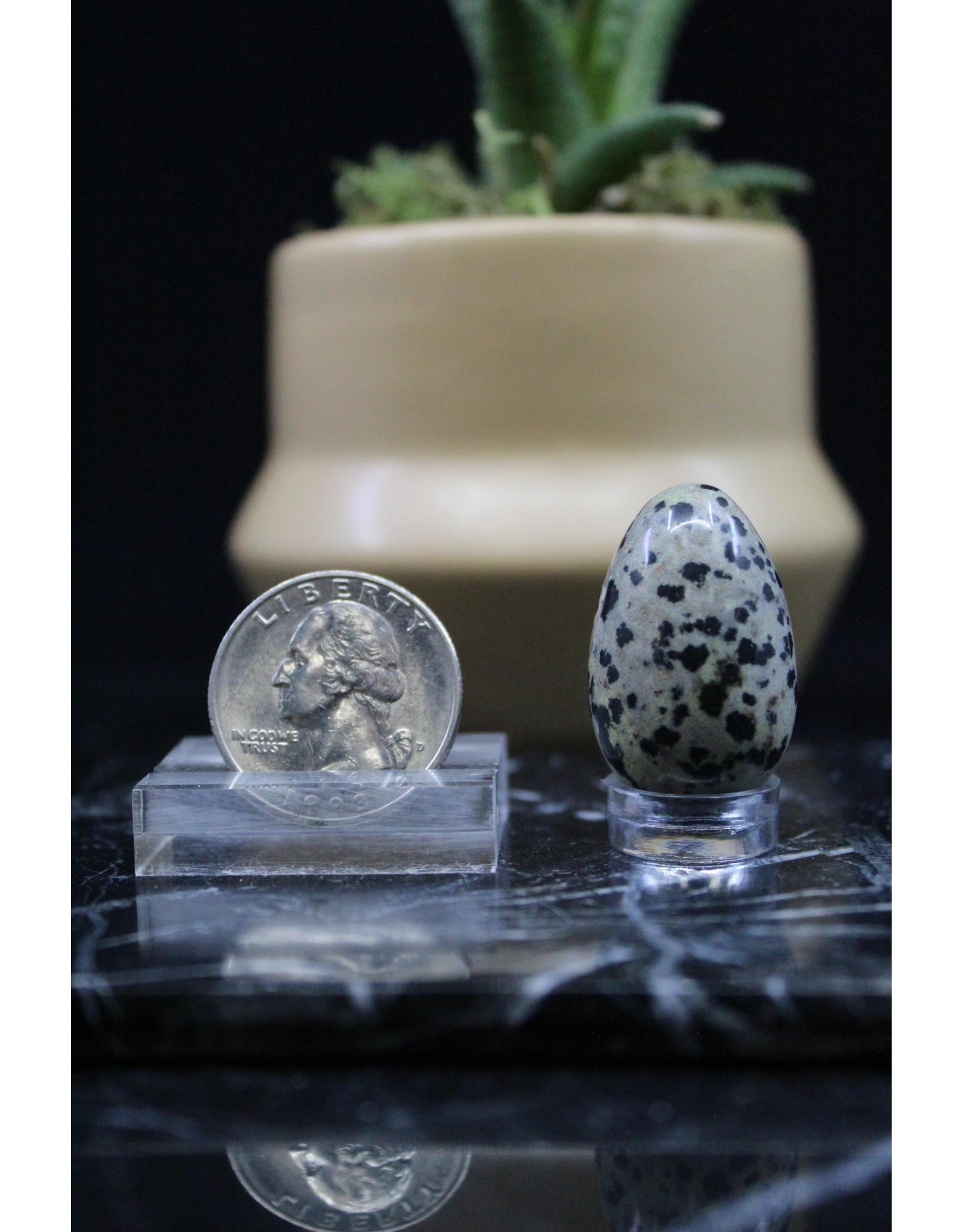 Dalmation Jasper Egg - Small