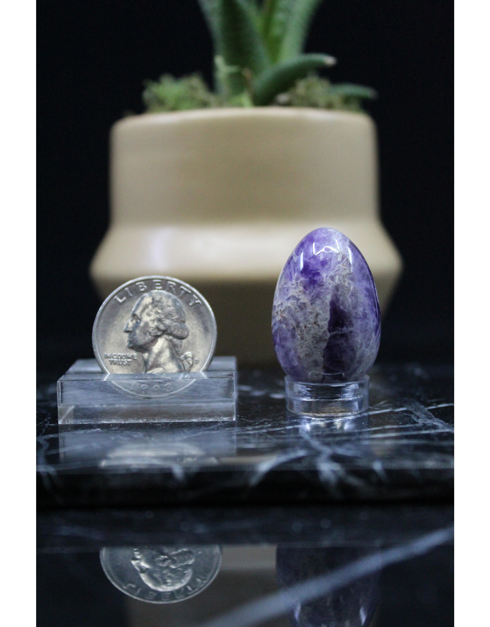 Amethyst Egg - Small