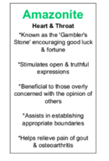 AAA Grade Amazonite Tumbled
