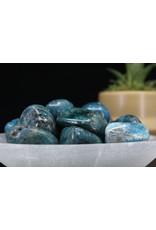 XL Blue Apatite - Tumbled