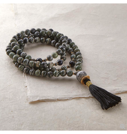 Silver & Sage - Stay the Course Mala