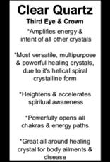 Clear Quartz Goddess-Medium