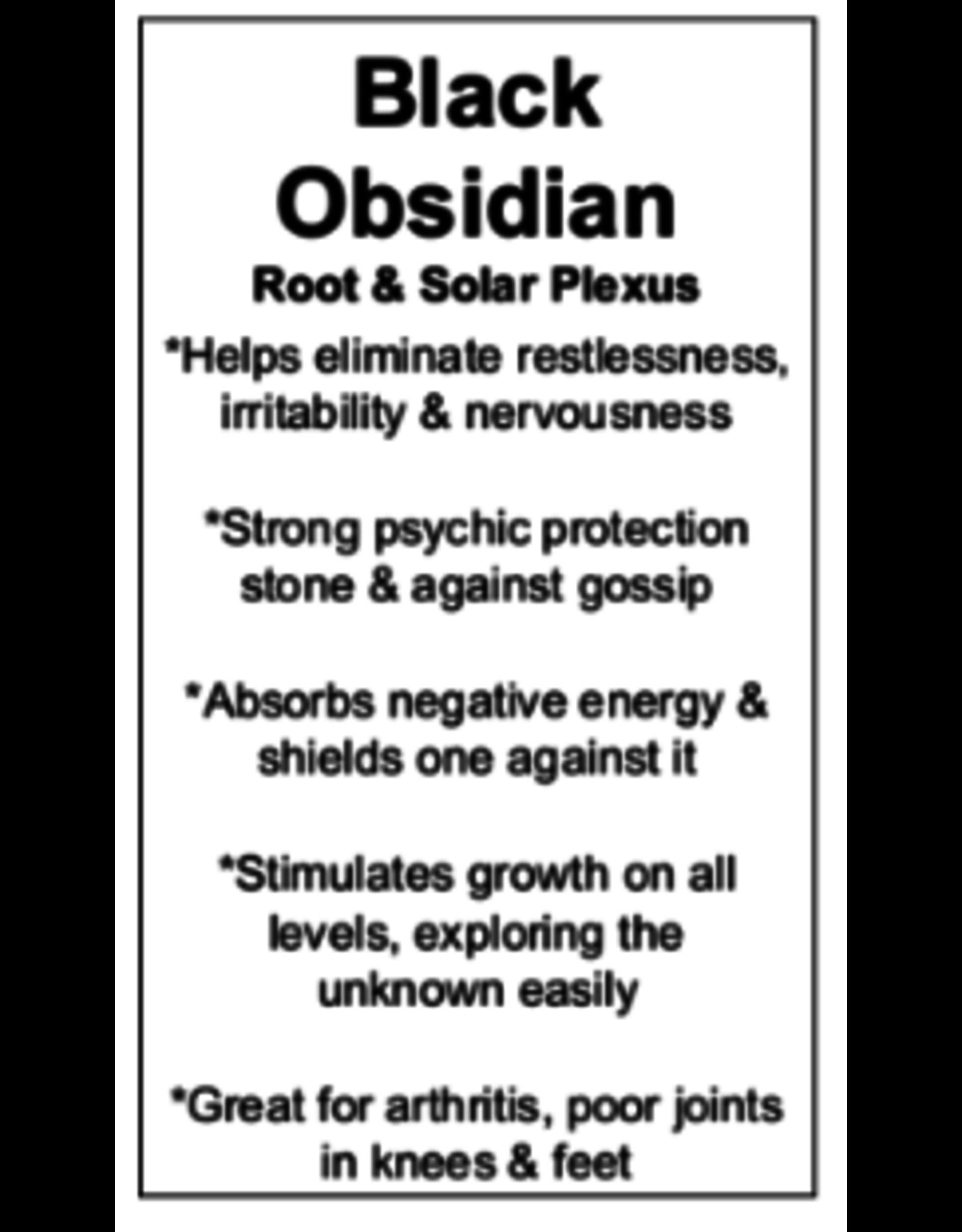 Black Obsidian Face/Facial Massage Roller