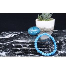 Blue Apatite Bracelet-6mm