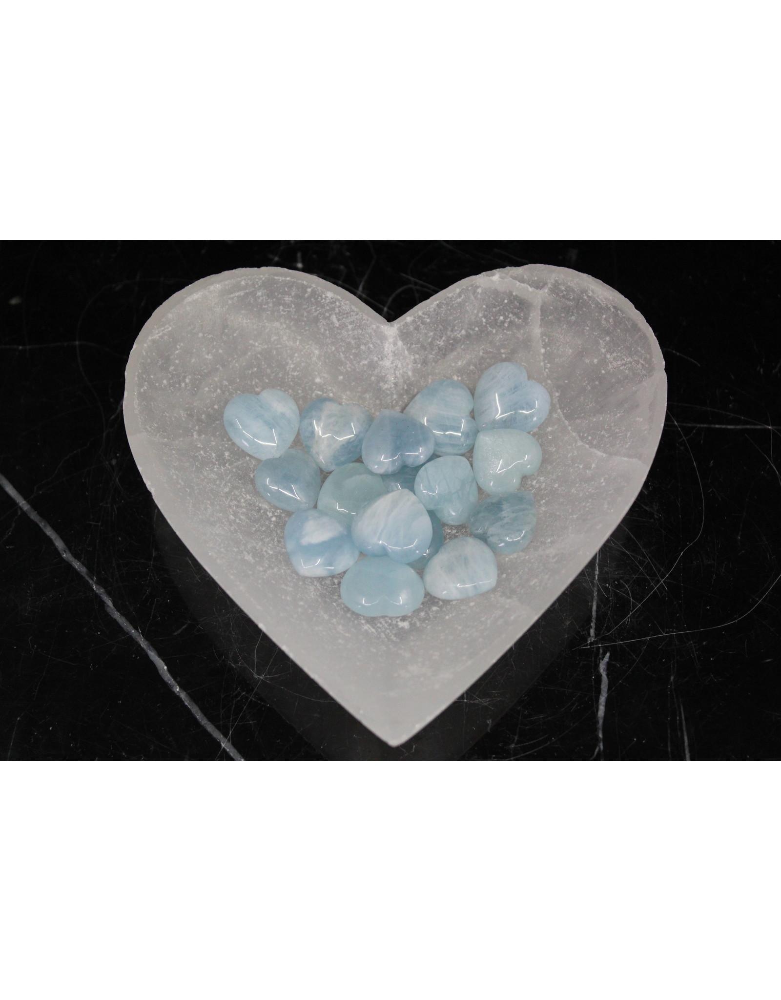 Aquamarine Heart - Medium