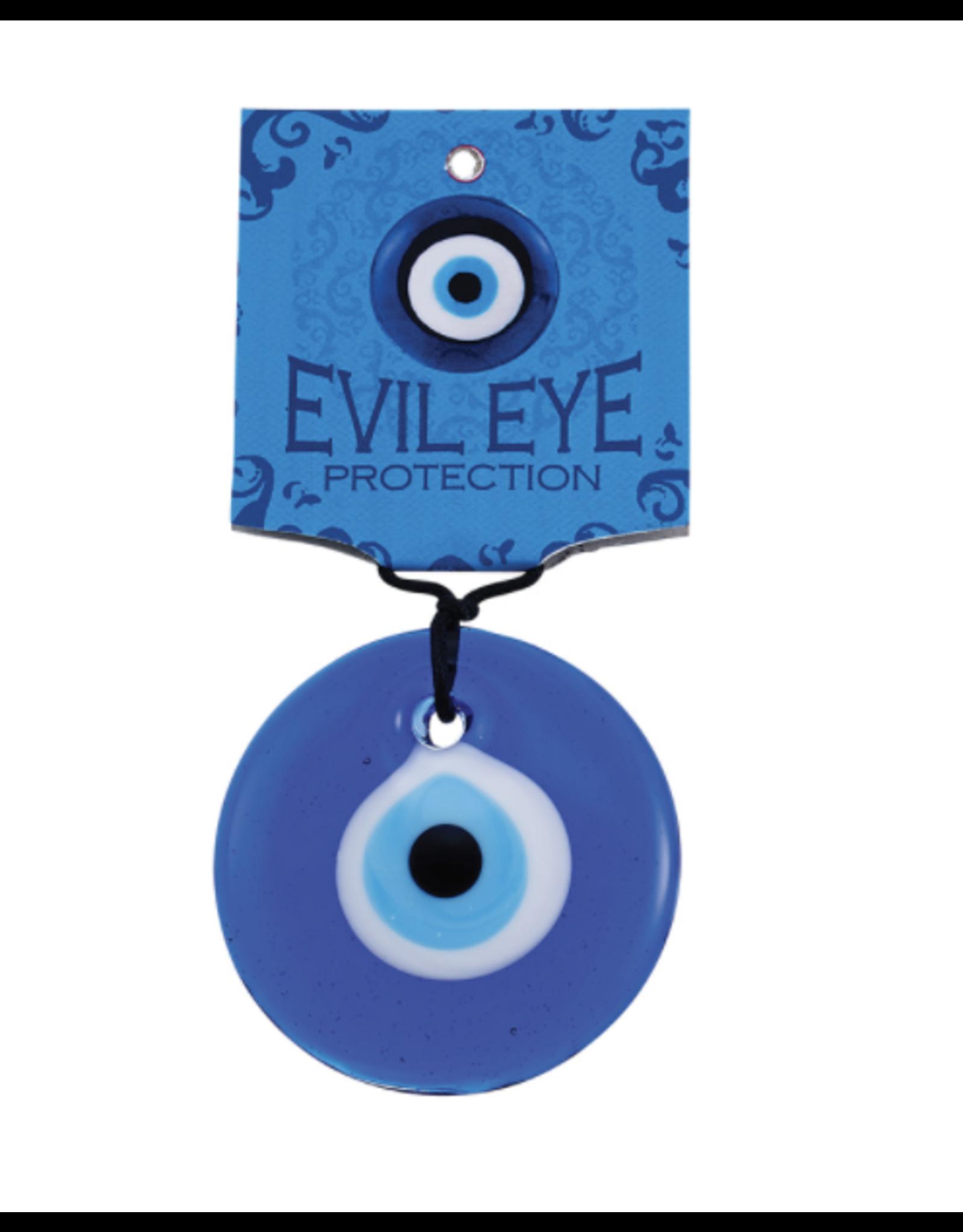 "Blue Glass Evil Eye 3.5"""