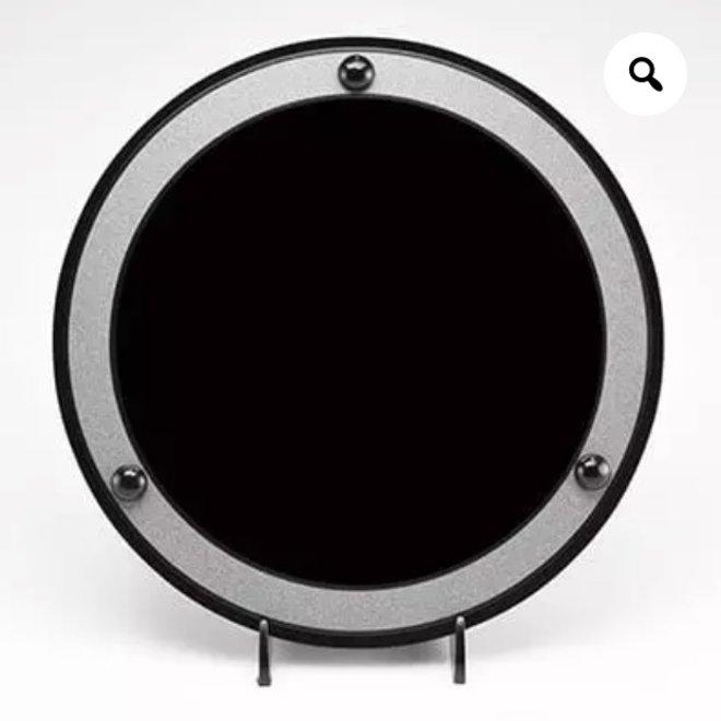 Black Obsidian Energy Scrying Mirror