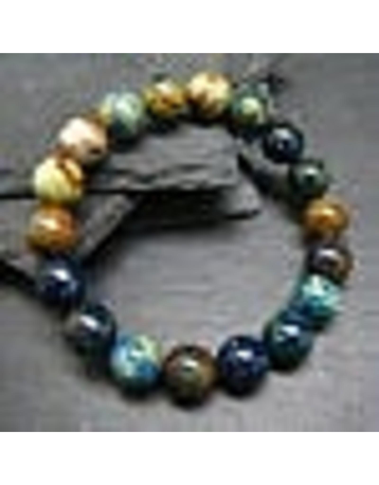Bracelet -Azurite  - 10mm
