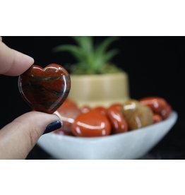 Red Jasper Heart - Small