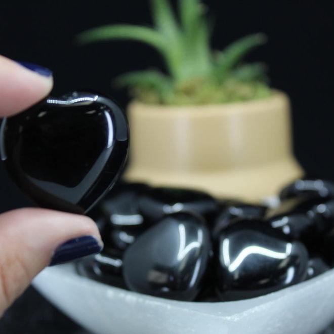 Black Obsidian Heart - Small