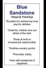 Blue Sandstone/Goldstone Hearts Small