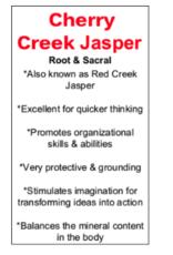 Cherry Creek Jasper Hearts - Small