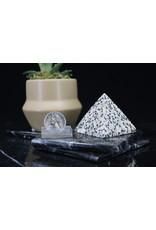 Dalmatian Jasper Pyramid -Large