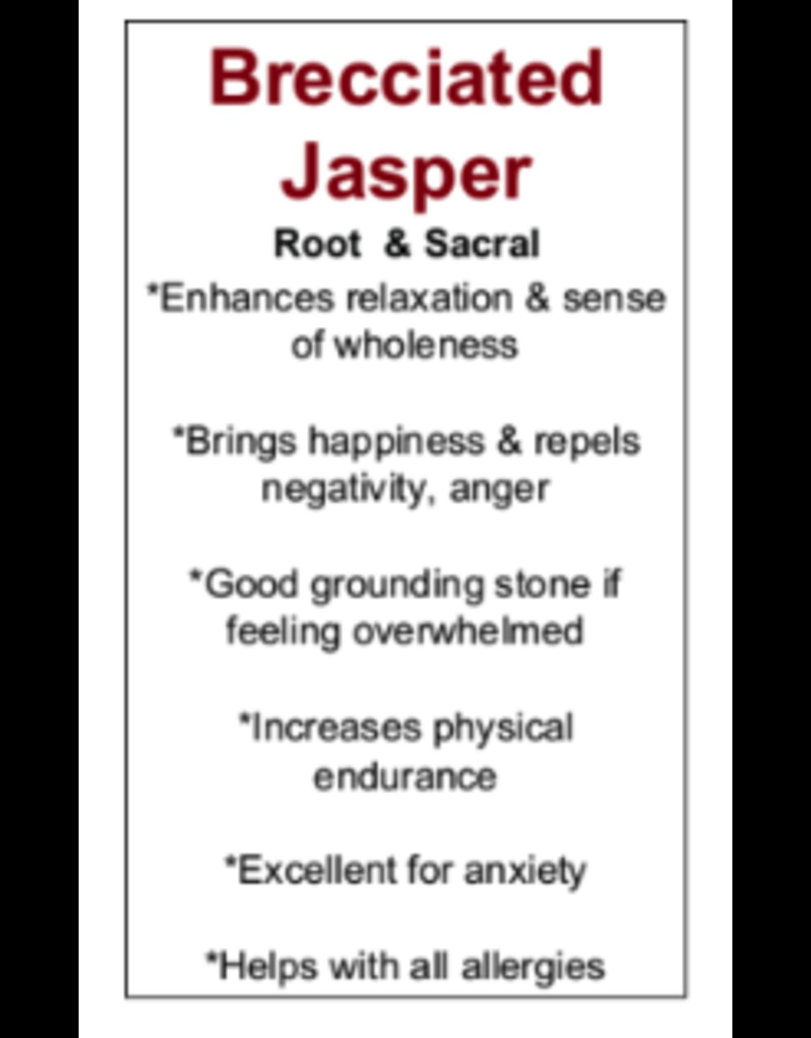Brecciated Jasper Massage Wand
