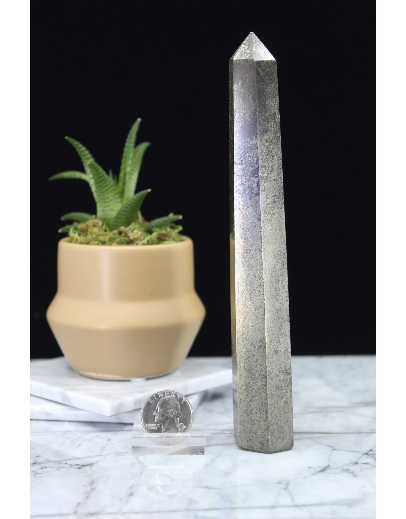 """Chalcopyrite Tower Point-Large (3-5"""")"""