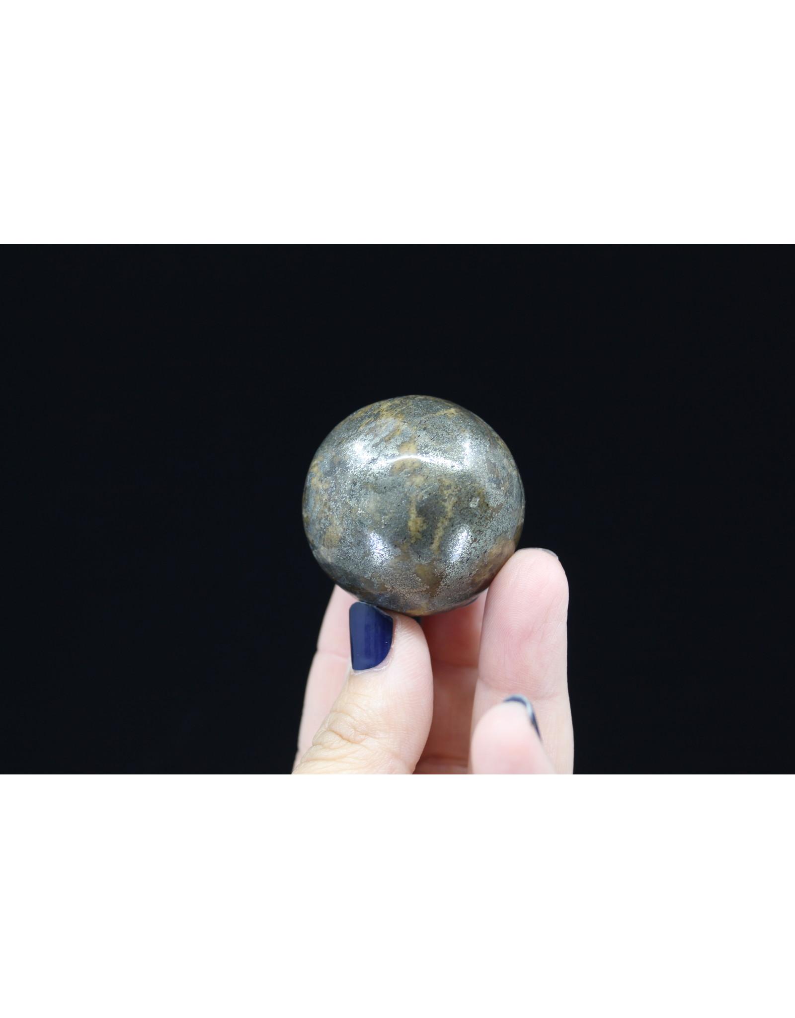 Chalcopyrite Sphere Orb-40mm