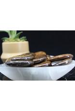 Bronzite Worry Stone - Oval Large