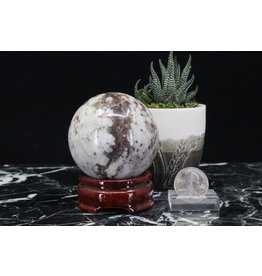 Kakortokite Sphere (332 grams)-63mm
