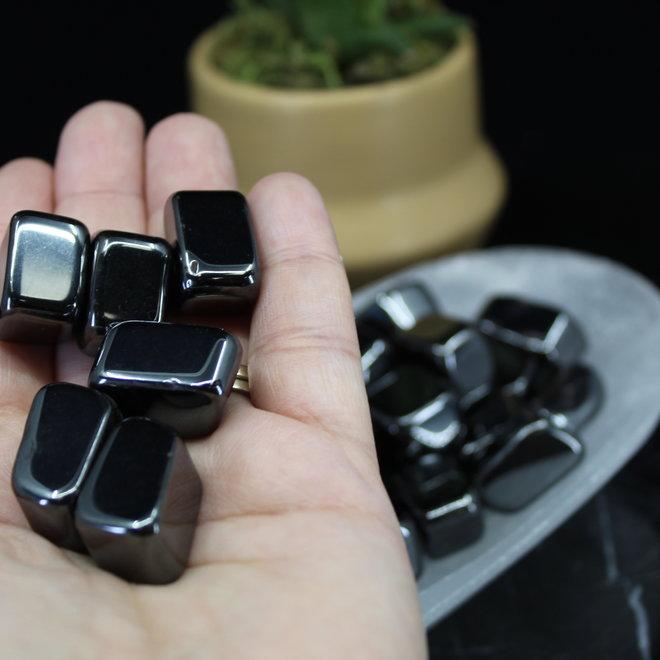 Blocked Hematite - Tumbled