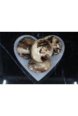 Chocolate/Coke Calcite Large Palm Stones
