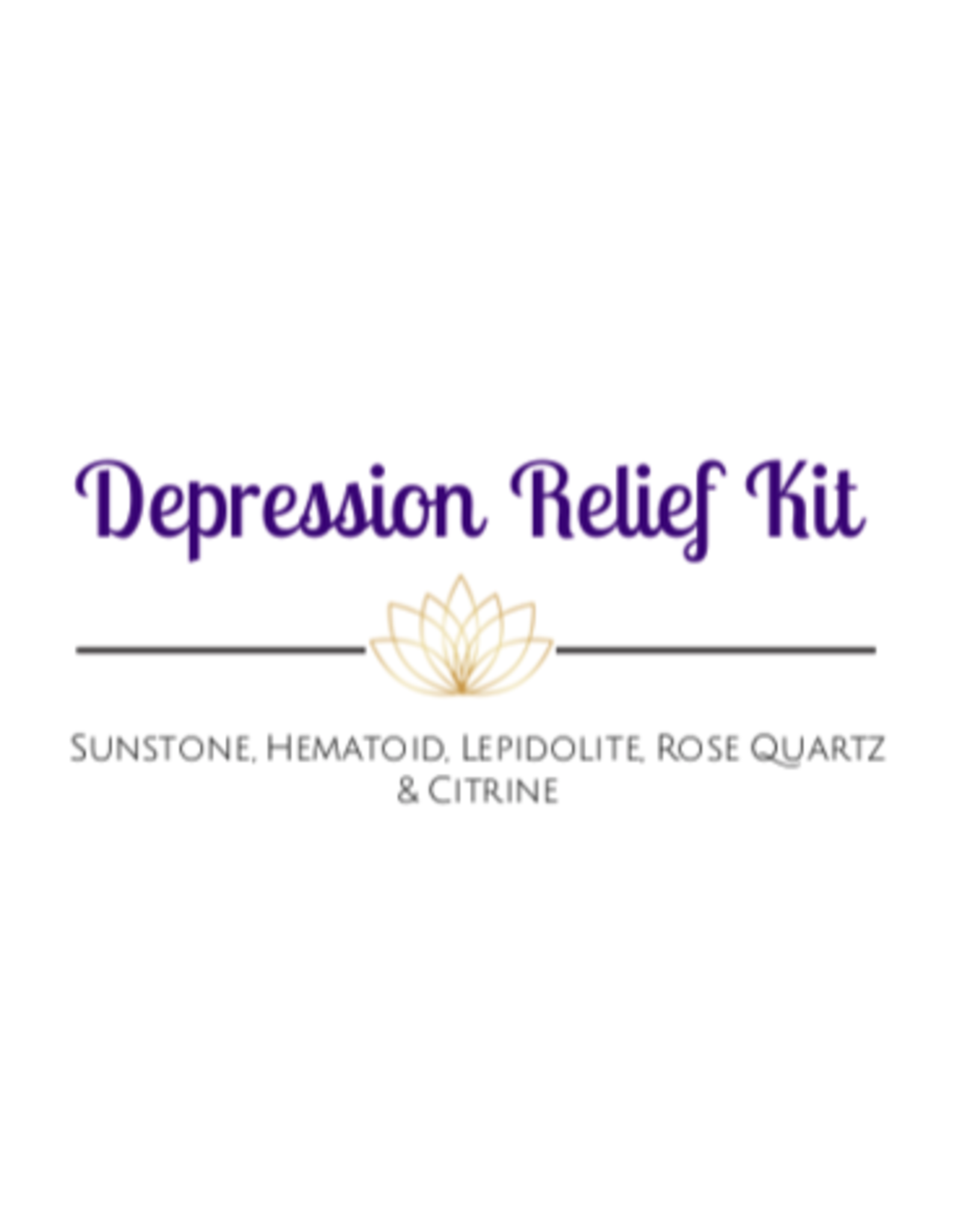 Crystal Kit -Depression Relief