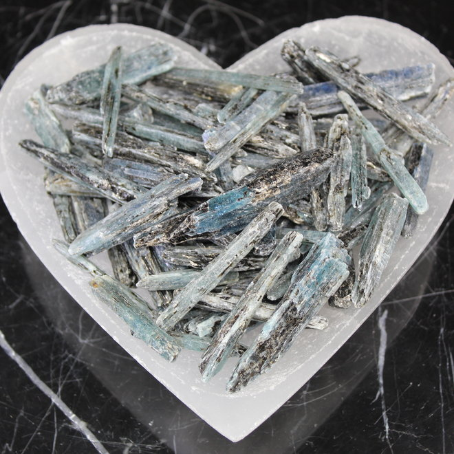 African Blue Kyanite - Rough Raw Natural