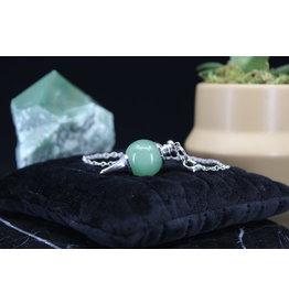 Green Aventurine Round Ball Sephoroton Pendulum