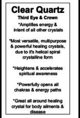 Pendulum -Clear Quartz Silver Antique Capped Chakra Beaded