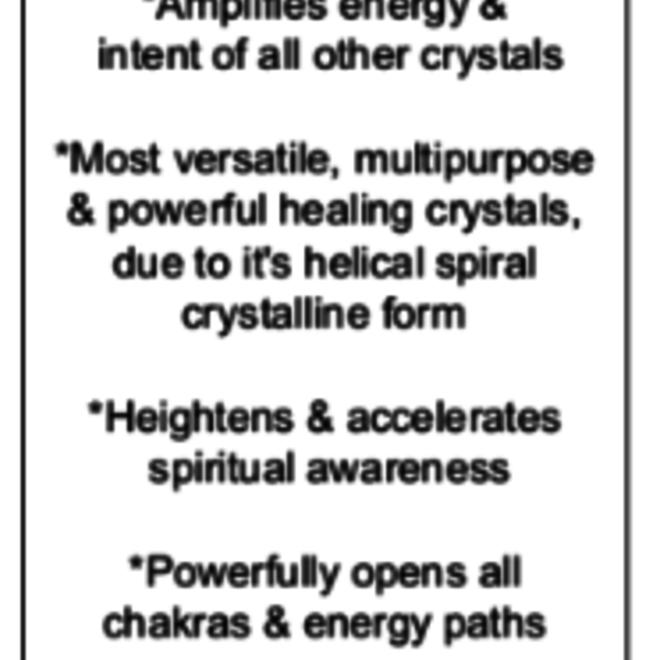 Clear Quartz Angel Pendulum w/ Chakra Beads