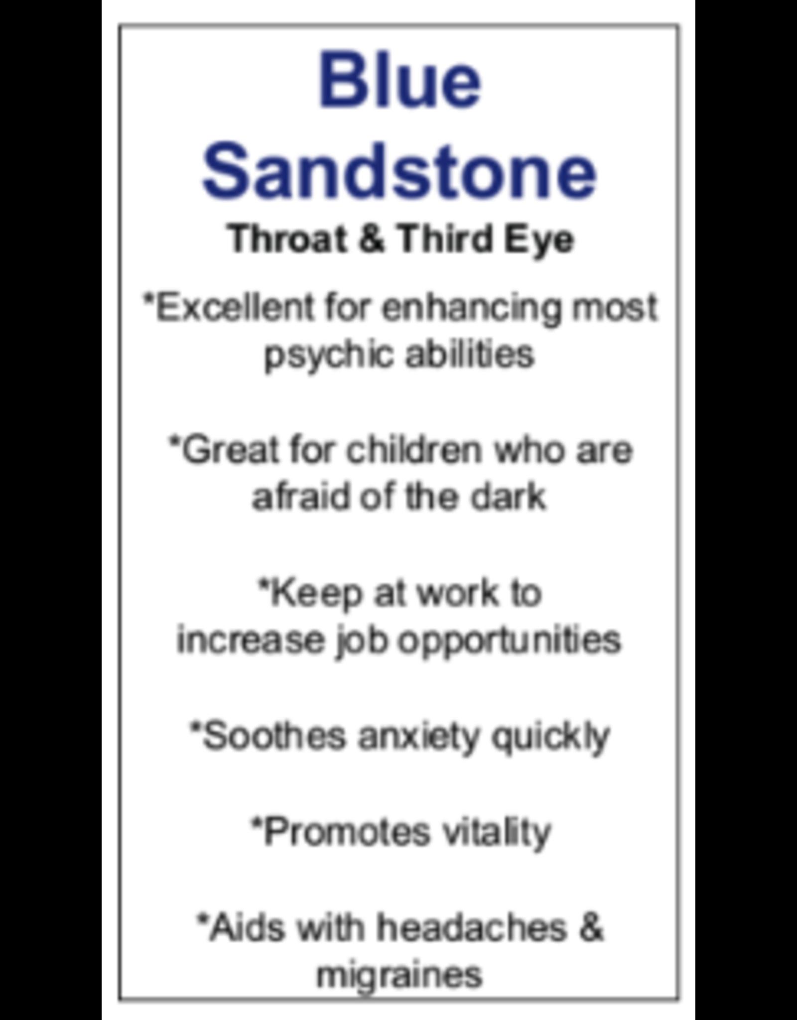 Pendulum -Blue Sandstone Hexagon