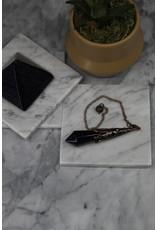 Pendulum -Antique Bronze Blue Sandstone